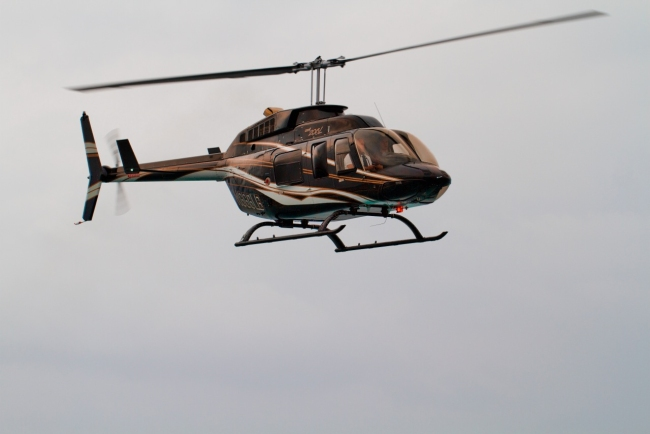 Helicopter charter from Miami